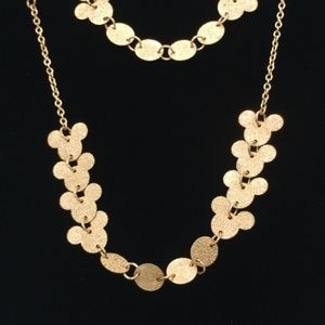 Gold Tone Mickey Mouse Ears Disney HammereNecklace